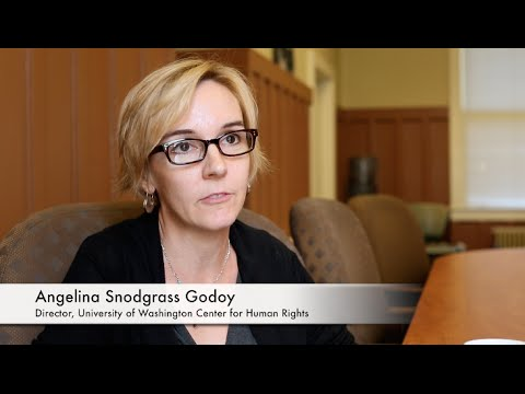 UW CHR Director Angelina Godoy: Access to Information as a Human Right