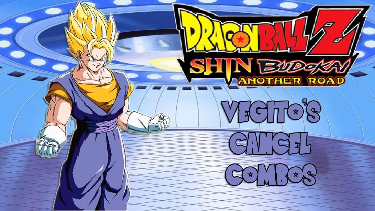 DBZ Shin Budokai AR (PSP) - Vegito's Cancel Combos