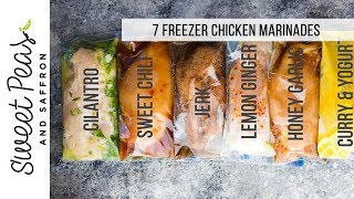 4 Freezer-Friendly Chicken Marinades
