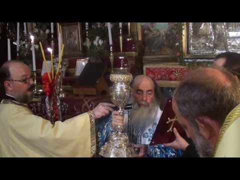 H εορτή της Κοιμήσεως της Θεοτόκου στη Γεθσημανή
