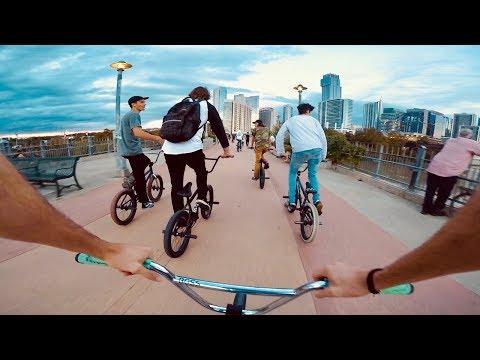 THE ADVENTURE OF A LIFETIME  | Exploring Austin Texas *GoPro BMX*