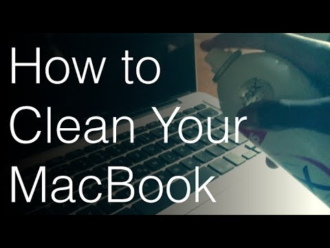 How to Clean Your MacBook (Keyboard, Screen, Connection ports)