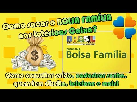 COMO SACAR O BOLSA FAMILIA NAS LOTERICAS CAIXA E MAIS   Como Fazer Fácil