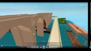 ROBLOX Diesel 10 Falls Down The Big Dipper [WITH AUDIO ADDED]