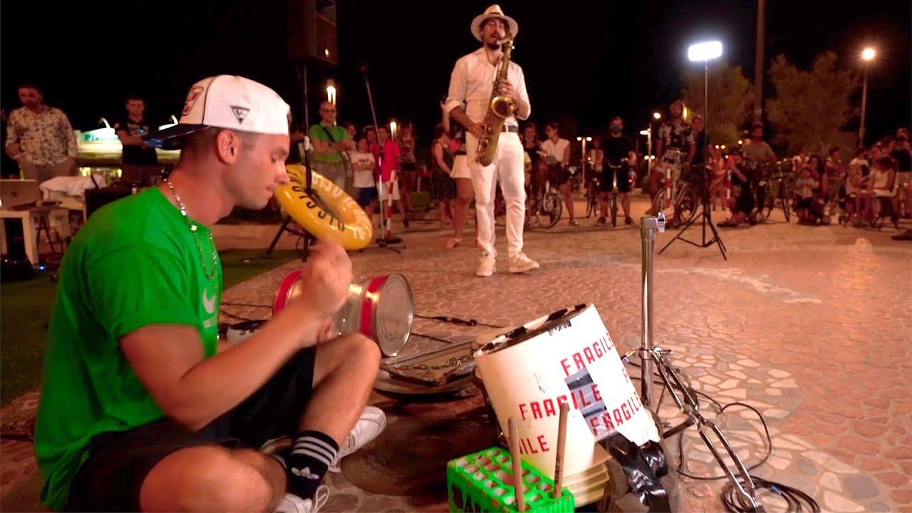"""""""Destination CALABRIA"""" [feat. Damat Drummer] STREET SAX PERFORMANCE"""
