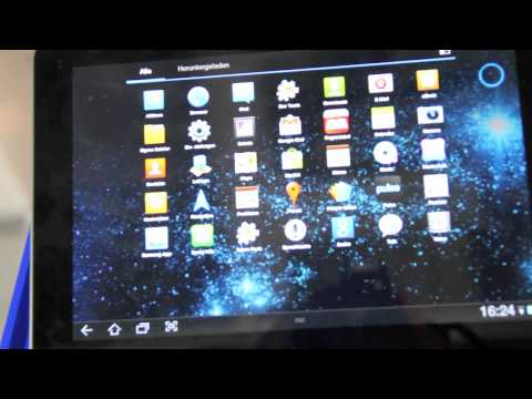 Exklusives funktionsfähiges Samsung Galaxy Tab 8.9 Hands On