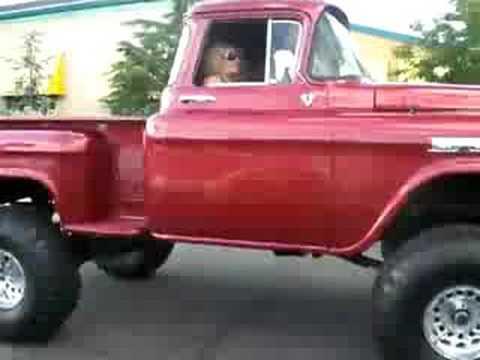 Gorgeous 58' Chevy 4x4