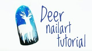 💅💅 Seria Zainspirowana przez WAS 💅💅 :: Deer :: Nailart by Natalia