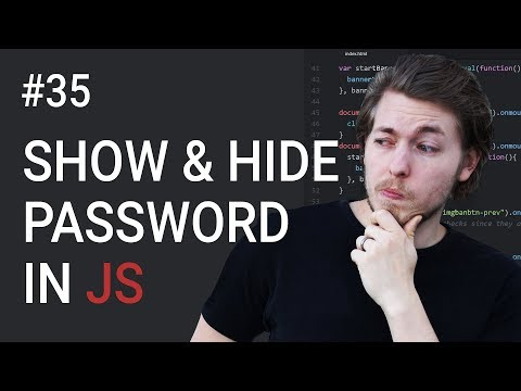 35: Show Input Password Using JavaScript | JavaScript Tutorial | Learn JavaScript