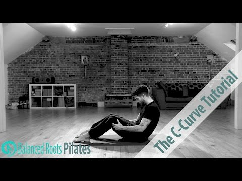 Pilates 101THE C CURVE Tutorial & Tips (strengthen abs & protect spine)