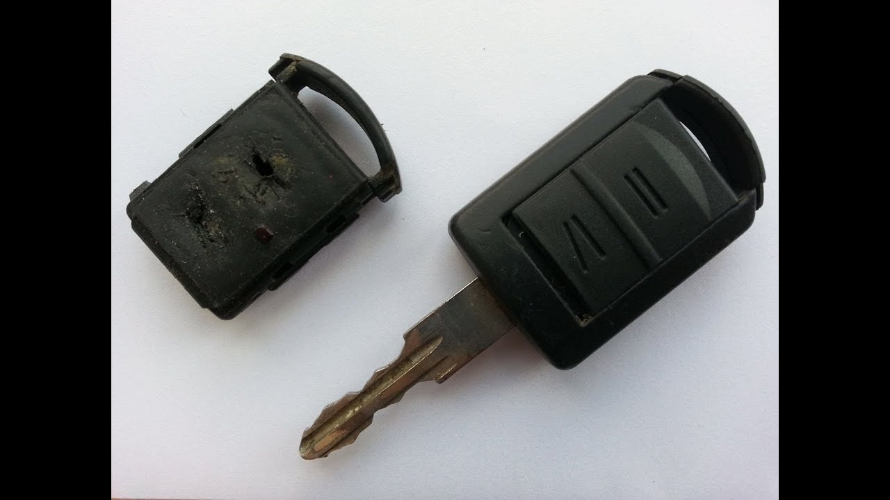 opel vauxhall key fob step by step repair guide and battery replacement  [ 1280 x 720 Pixel ]