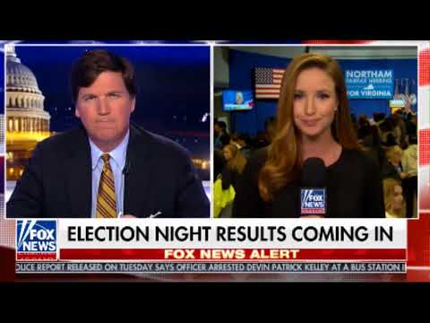 TUCKER CARLSON TONIGHT 11 7 NORTHAM WINS VA RACE BRIT HUME RESULT WATCH FOX NEWS CHANNEL