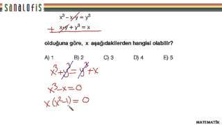 Fem ygs 2 soru çözümleri matematik soru 21
