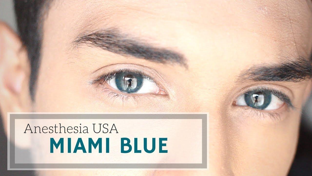 Download Miami Blue - Anesthesia USA Contact Lenses