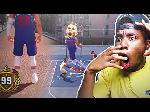 *NEW* GIANT PISTONS BLAKE GRIFFIN HACK!?! DETROIT BLAKE GRIFFIN TAKEOVER AT THE PARK! NBA 2K18