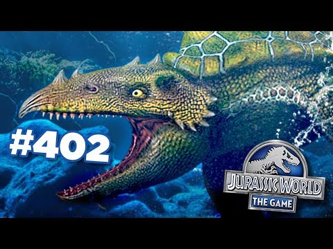 A New Hybrid In The Waters!!! | Jurassic World - The Game - Ep402 HD