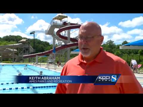 Cracks found in two water slide during inspection