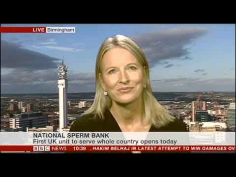 National Sperm Bank launch BBC News report