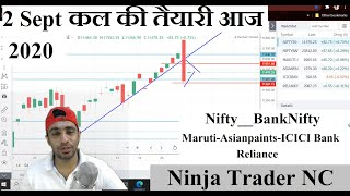 कल की तैयारी आज || Intraday Trading Strategy for 02 September 2020 || Nifty-Bank Nifty | Episode 31