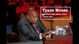 Moses Tyson is One Of The Worlds Greatest Gospel Organ Players !