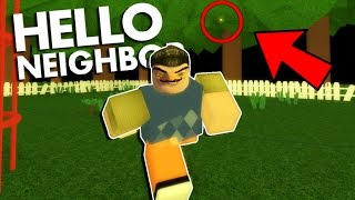 HELLO NEIGHBOR In ROBLOX | THE GOLDEN APPLE IS REAL!