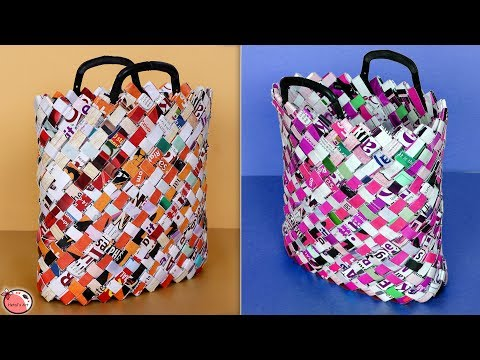 Best Out Of Waste Idea || How to Make Paper Bag || Carry Bag Making at Home