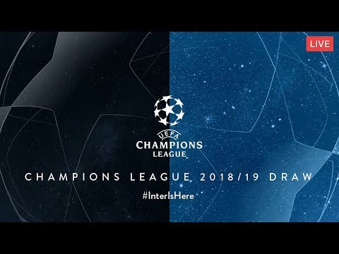 LIVE | 2018/19 UEFA CHAMPIONS LEAGUE DRAW | #InterIsHere ⚫🔵