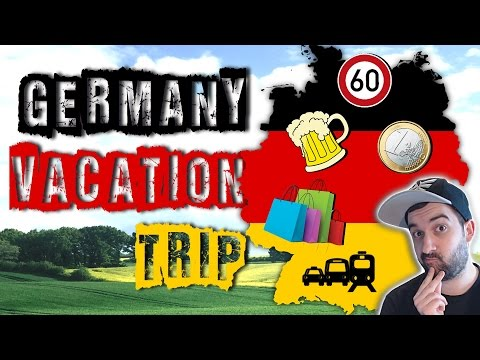 ON VACATION IN GERMANY? | 5 Important Travel Tips You Should Know About! | VlogDave