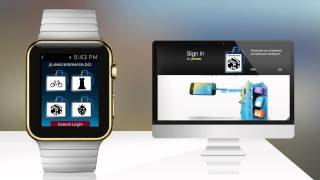 Zwei-Faktor Authentifizierungs App für Webseiten Login mit Apple Watch