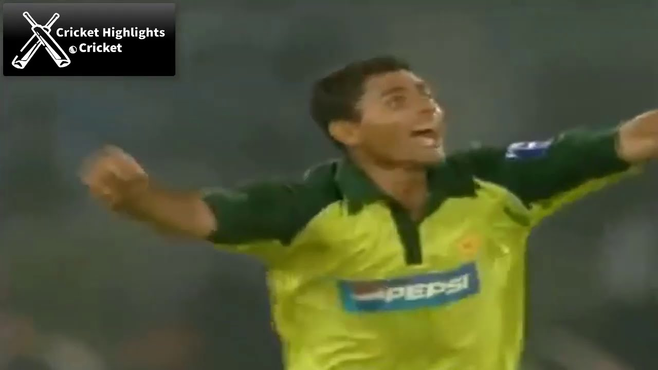 India vs Pakistan 4th ODI 2004 Samsung Cup Cricket Highlights