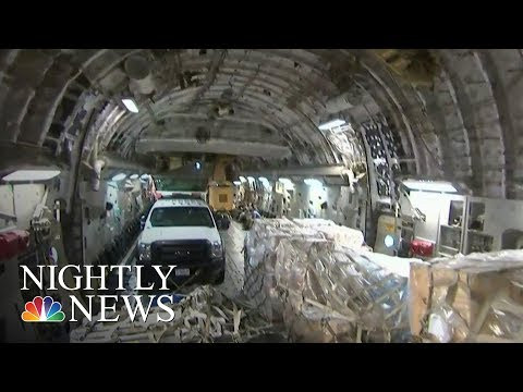 Inside Relief Flight to Hurricane Battered St. Thomas | NBC Nightly News