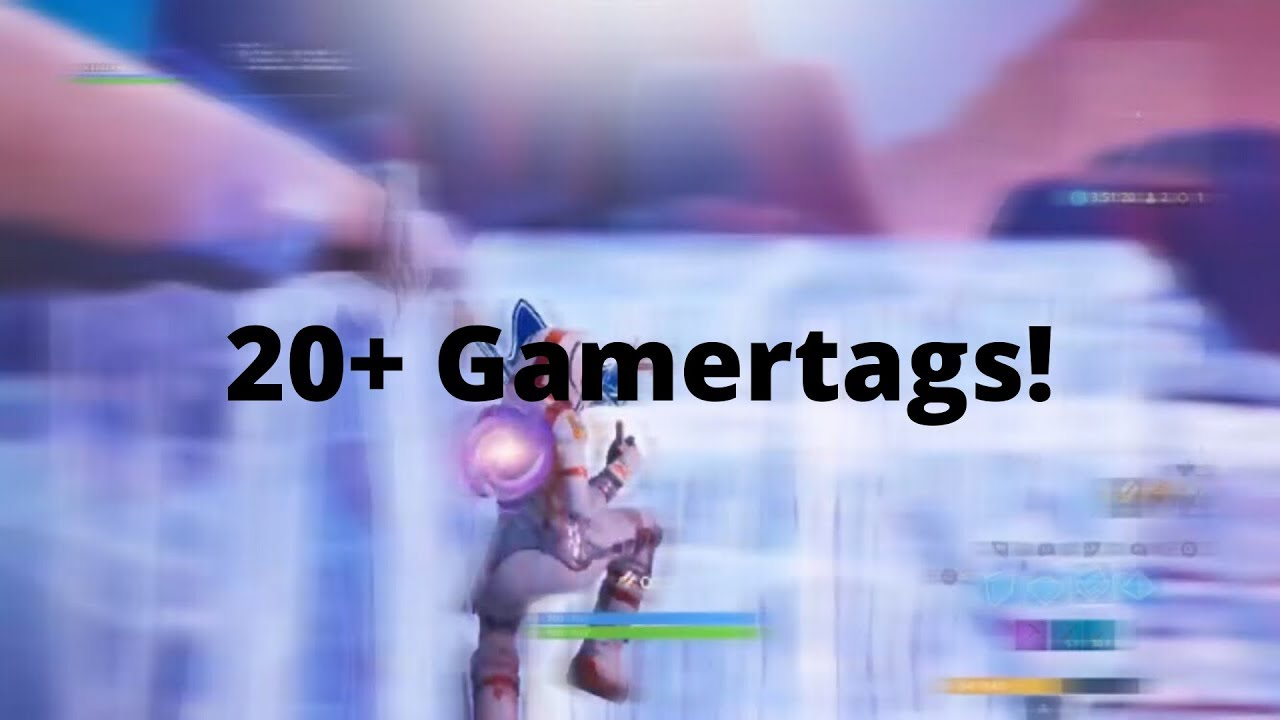 Sweaty Gamertags Xbox And Ps4 Fortnite Not Taken 2020 Youtube