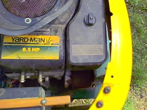 Yardman Mower Youtube