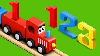 Learn Numbers with Fun Preschool Toy Train - Numbers Videos Collection