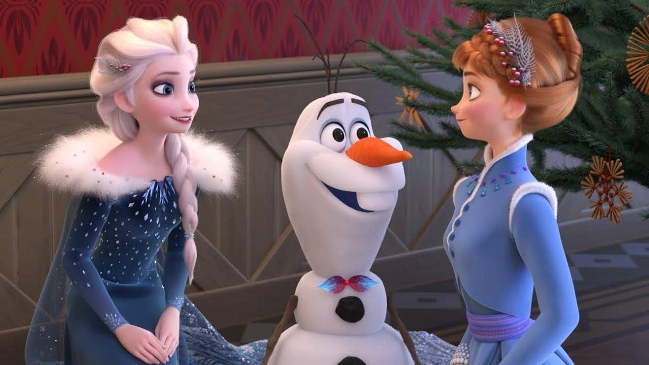 Disney frozen le avventure di olaf la festa di natale clip