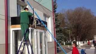 Очистка и помывка фасадов зданий.(, 2013-04-13T13:44:47.000Z)