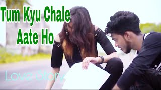 Tum kyu chale aate ho | cute love story | New Remix Cover Song (2020) | RoydjLive.3D