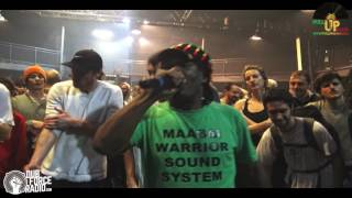 MAASAI WARRIOR SOUND SYSTEM - LAST TUNE - TELERAMA DUB FESTIVAL #14 - 2016 - MARSEILLE - (4k VIDEO)