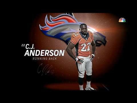CJ Anderson Official Highlights | 2015-16 Denver Broncos