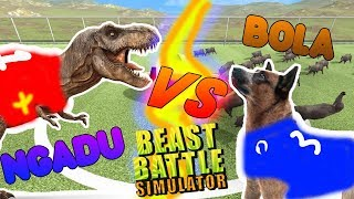 DINOSAURUS HEWAN TANDING BOLA | Beast Battle Simulator Indonesia