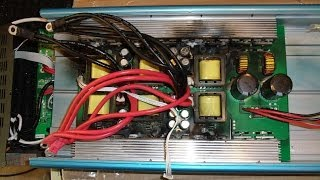 Inside a Burnt Up 6000W Inverter - A Salvage Operation Part 1/2
