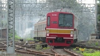 KRL Tokyo Metro 6000 6131F berangkat jalur 2 stasiun Manggarai otw Sudirman ll 東京メトロ6000系6131F
