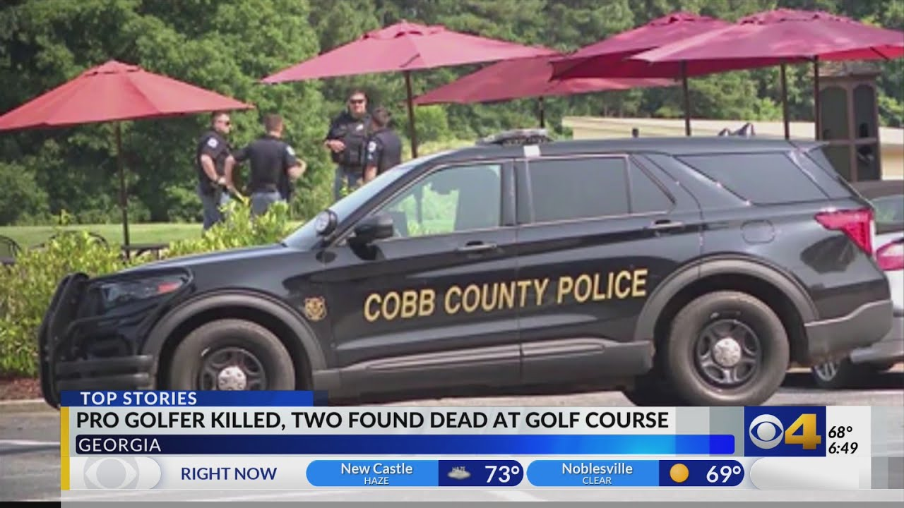 Pro golfer found shot to death on Georgia course