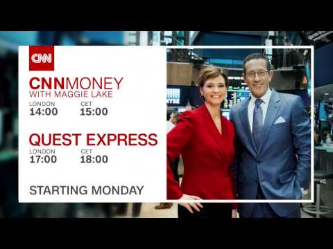 """CNN International: """"Live from NYSE"""" promo"""