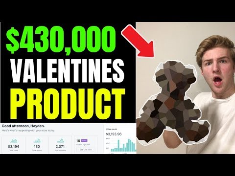 The $430,000 Valentines Day WINNING PRODUCT (Revealed)