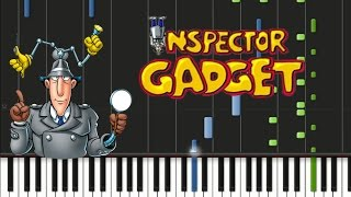 Inspector Gadget - Main Theme Song [Synthesia Tutorial]