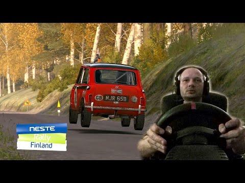 Rally Finland, onboard Mini Cooper - max attack