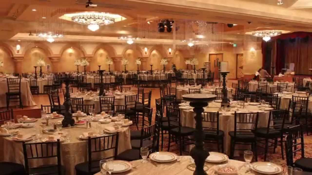 Le Foyer Ballroom Time Lapse Video Of Wedding Venue Setup In Glendale Ca