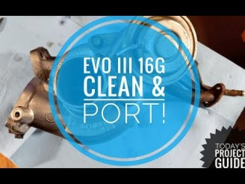 BIG 16G TURBO TEARDOWN/CLEAN/PORT!!! - Today's Project Guide #17