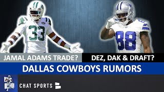 Dallas Cowboys Rumors: Jamal Adams Trade? Dak Prescott Holdout? Dez Bryant Return? Draft Zack Baun?